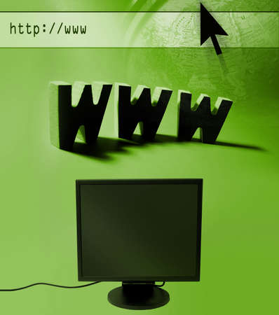 Internet themed design photo