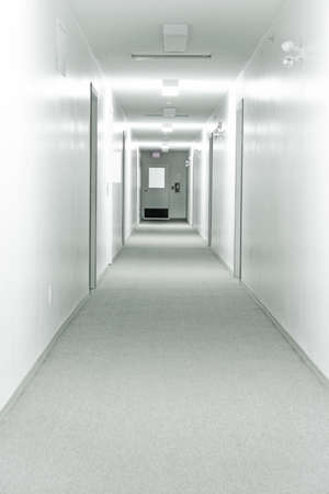 Bright Hallway Stock Photo