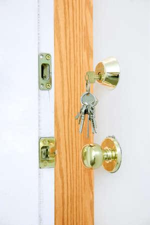 do not enter: Keys and Door