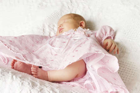 Newborn Baby Girl Stock Photo - 403126