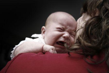 bawl: Baby Girl Crying