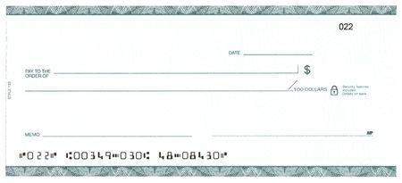 blank check: Blank Check (Fake Account)