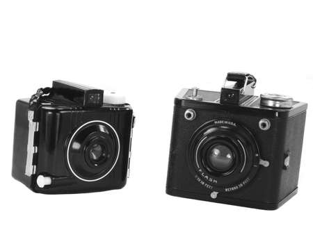 'dark ages': Two examples of vintage cameras from the dark ages of modern photography
