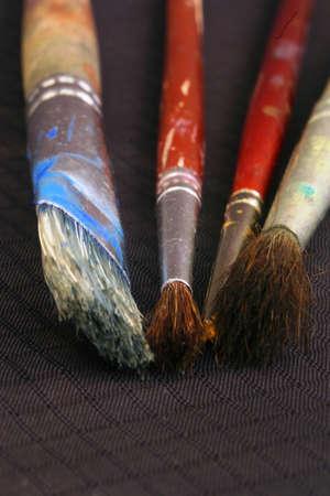 Paint brushes photo