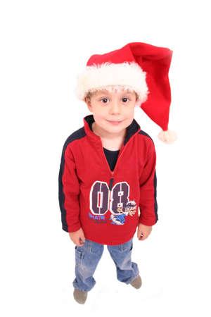 Christmas Kid 1 Stock Photo