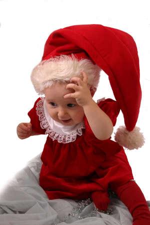 Christmas Baby 2 Stock Photo