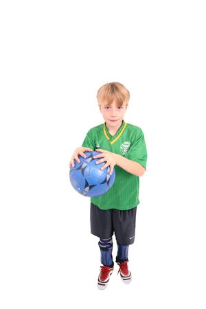 Soccer Kid 2, isolated