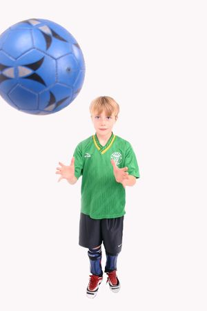 cousin: Soccer Kid 3, isolated