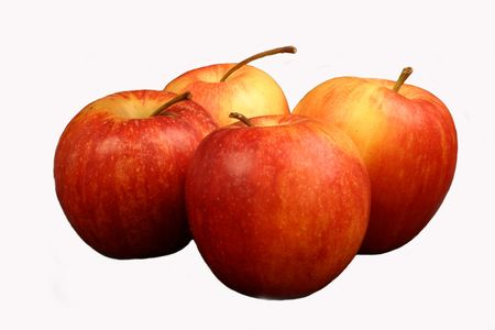 Apples, isolated Stock Photo - 266618