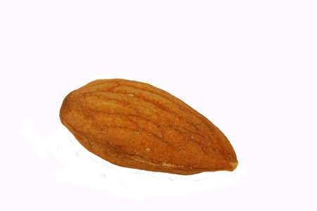 Almond, isolated