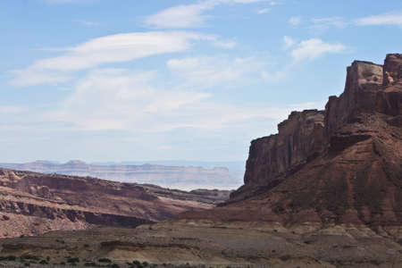 Rock formations in Utah, United States photo