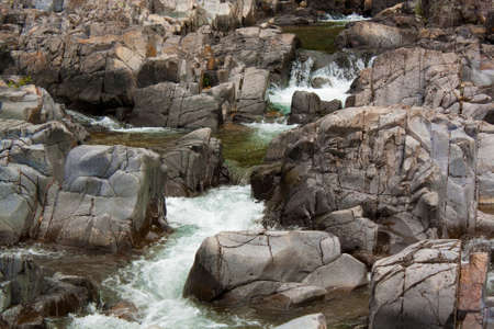 Waterfalls at Johnson Shuts Ins State Park, Missouri.