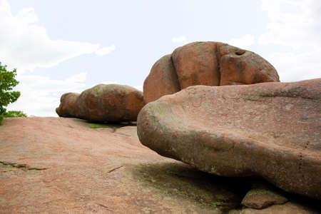 Elephant Rocks State Park Stock Photo