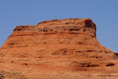 A mesa in the southwest United States. photo