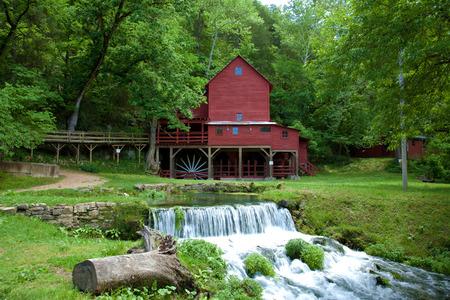 watermill: Hodgson Mill in Ozark County Missouri.