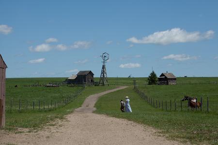 An old homestead in South Dakota.