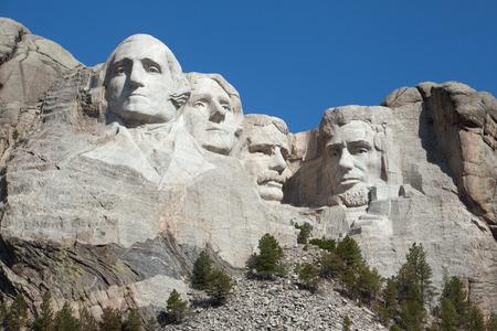 south dakota: Una veduta del Monte Rushmore nel Dakota del Sud.