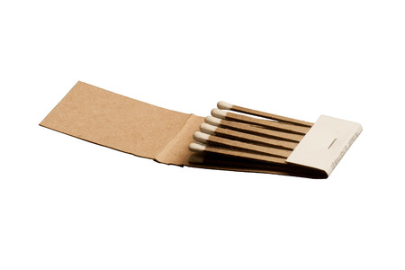 A book of matches isolated. Stock Photo