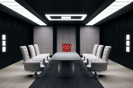 chairman: conference room 3d render