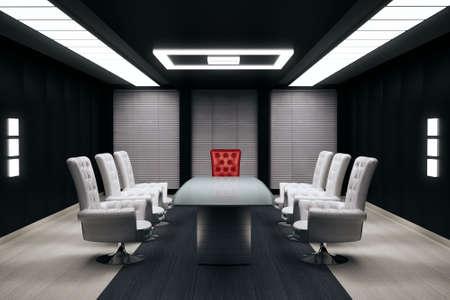 render: conference room 3d render
