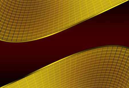 Abstract red golden background photo