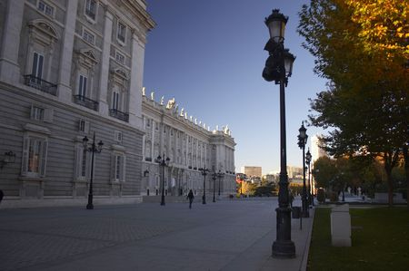 king palace: King palace (madrid)