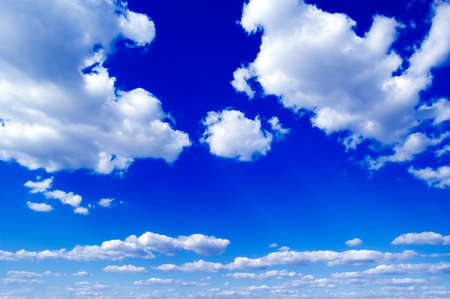 rapture: The clouds on the sky. Stock Photo