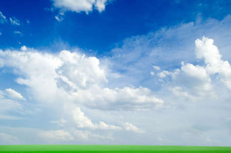 Land and sky Stock Photo - 2037496