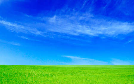 fields and sky Stock Photo - 2751446