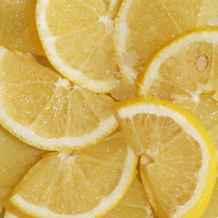 lemony: The cut lemon with sugar