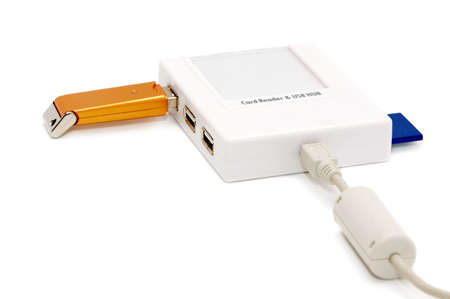 cardreader: card-reader on a white background