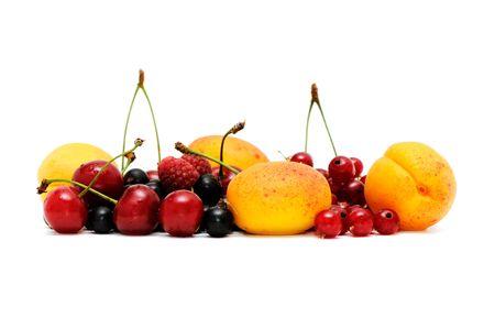 fruit isolated on a white background                                    photo