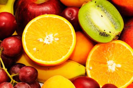 Fresh fruits isolated on a white background Stock Photo - 3426147