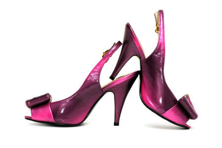 shoes on a white background Stock Photo - 3470564