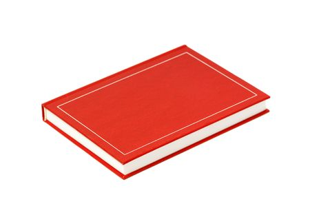 book isolated on a white background Stock Photo - 3868229