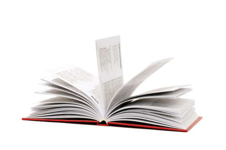 book isolated on a white background Stock Photo - 4000730