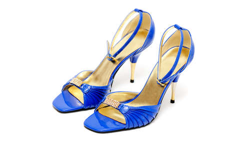 shoes on a white background Stock Photo - 4128387