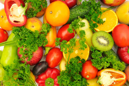 fruits and vegetables Stock Photo - 4169222