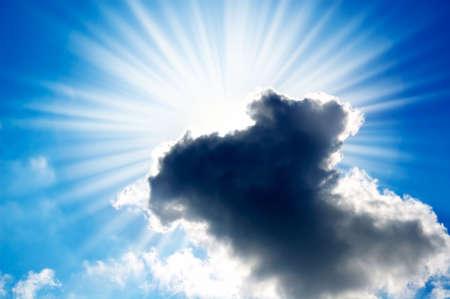 sun closed by rain cloud  Stock Photo - 4198449