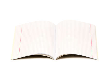 Writing-book for records isolated on a white background Stock Photo - 4284339