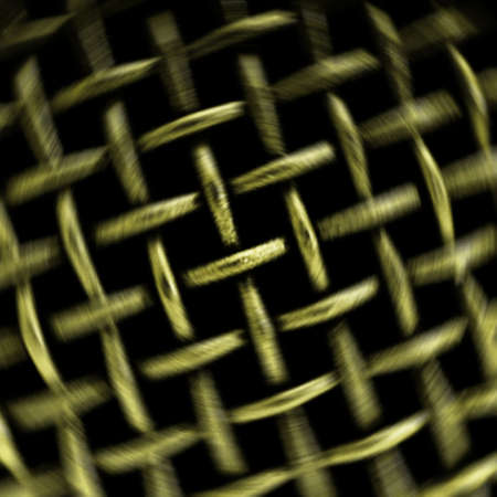 Background from metallic lattice photo