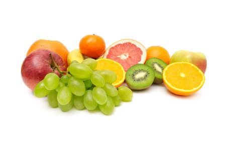 Fresh fruit isolate on a white                                    Stock Photo - 5603102