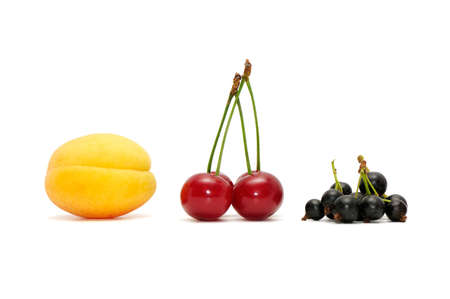fruits isolated on a white background Stock Photo - 5717278