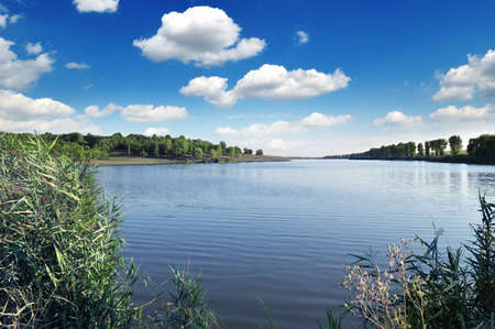 lake and blue sky                                     Stock Photo - 6261999