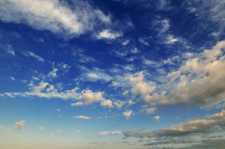 blue sky is covered by white clouds Stock Photo - 6312702