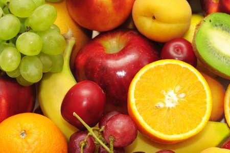 ensalada de frutas: frutas frescas