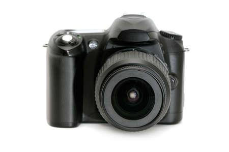 photocamera: photocamera isolated on a white background