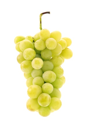 fruitage: grapes isolated on a white background
