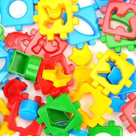 for children toys: Toys for children isolated on white background.