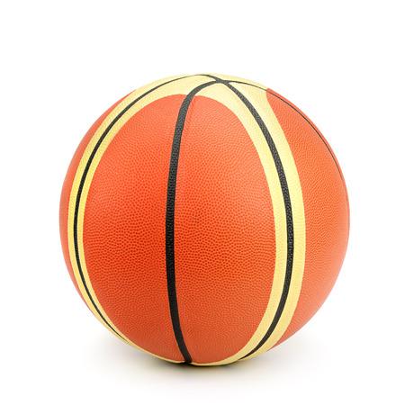 basketball isolated on white background photo